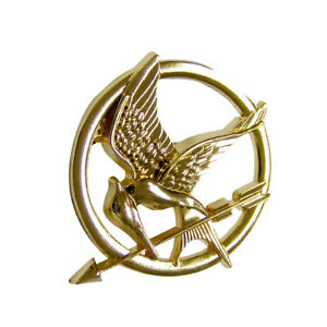 The Hunger Games Movie Mockingjay Brooch Pin Replica Lionsgate Films
