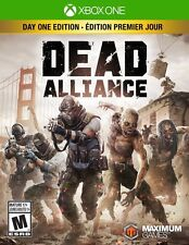 New! Dead Alliance: Day One Edition Xbox One Live Free Shipping Shooter Zombies