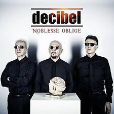 """DECIBEL NOBLESSE OBLIGE DOPPIO VINILE LP 10"""" NUOVO SIGILLATO !"""