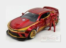 Chevrolet Camaro Coupe With Iron Man Figure 2016 JADA TOYS 1:24 JADA99724