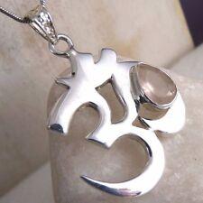Rose Quartz Handmade Sterling Silver Fine Necklaces & Pendants