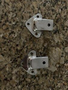 MGB Chrome top frame & tonneau bow sockets