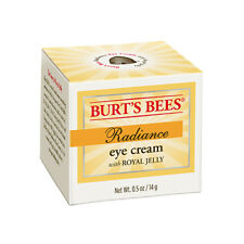 Burt'S Bees ~ Radiance Eye Cream ~ With Royal Jelly 98.2% Natural ~ 0.5 Oz