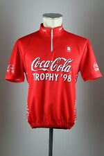 Coca Cola Trophy 1998 / 98 kalas cycling Rad Trikot Gr. L bike jersey VA3