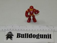 Authentic Iron-Man Shiny Armor 2009 Figure Marvel Super Hero Squad Hasbro