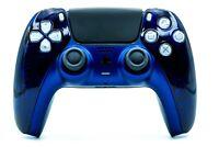 Sony PS5 / PlayStation 5 DualSense Wireless Controller - Custom Blau Schwarz