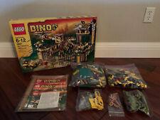Lego Dino Defense HQ 5887 100% Complete Box Instructions Dinosaur