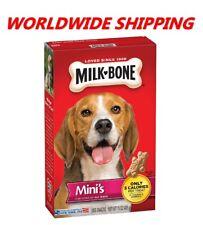 Milk-Bone Mini's Original Dog Biscuits Treats 15 Oz WORLDWIDE SHIPPING