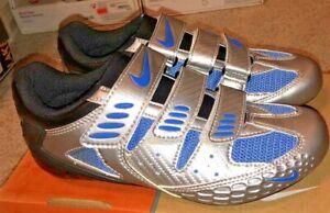Nike Womens Cycling Shoes - Altea II - Silver - Size EUR 38.5 / US 7.5 91917