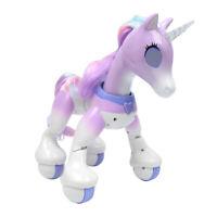 Electronic Pet for Kids, Wireless RC Interactive Robot Smart Unicorn (Singing,