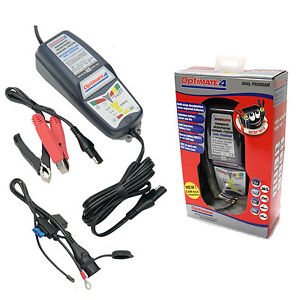 Optimate 4 DUAL Motorcycle 12V Battery Charger Optimiser SAE Latest Version
