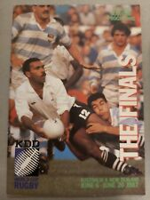 More details for rugby world cup 1987 finals in new zealand & australia programme - free p&p