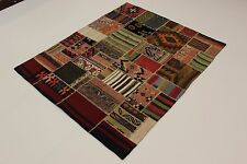 nomades Kelim patchwork look antique PERSAN TAPIS tapis d'Orient 2,05 x 1,67