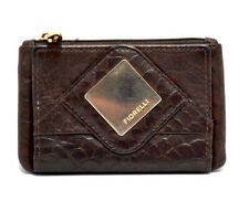 Fiorelli Womens Small Leather Coins Card Wallet Purse Brown