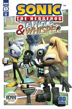 Sonic the Hedgehog Tangle & Whisper 1 SDCC 2020 IDW Exclusive Variant RE 500 NM