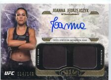 2017 TOPPS UFC KNOCKOUT FIGHTER WORN SHIRT TIER ONE AUTO JOANNA JEDRZEJCZYK