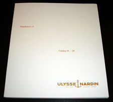 ULYSSE NARDIN Luxury Watch PRODUCT CATALOG Softcover BOOK 2019 2020 - 90 Pages
