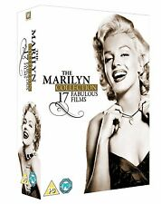 MARILYN MONROE COMPLETE MOVIES DVD BOX SET 17 FILMS COLLECTION BRAND NEW UK