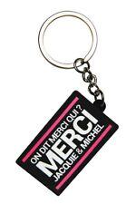 Porte-clés Jacquie et Michel Logo rectangulaire