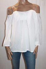 STELLA FOREST Designer White Gypsy Heart Top Size 6-XXS BNWT #SV12
