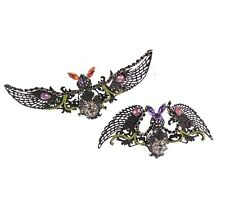 Katherine's Collection Batty Brunhilda Halloween Holiday Ornaments Set of 2