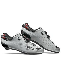 Sidi Shot 2 Road Shoes, Black/Grey Polished