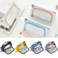 Multifunction Pencil Case Large Capacity Pen Box School Stationery Cosmetic Bags