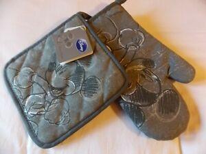 Mickey Mouse Disney - 7 Pièces : 1 Tablier - 4 Torchons -1 Gant -1 Manique Neufs