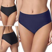 US Women Ladies Full Coverage Swim Briefs Bottoms Bikini Beach Shorts Bath Pants