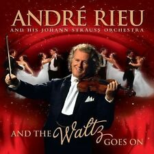 ANDRE RIEU AND THE WALTZ GOES ON CD & LIVE IN VIENNA 2011 DVD UK DOUBLE CD L NEW