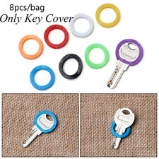 Colors  Silicone Topper Key Holder  Keyring Rings  Key Cap Covers  Key Case