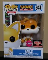 TAILS #641 Funko POP! Games: Sonic The Hedgehog FLOCKED Target Con 2021 IN-HAND