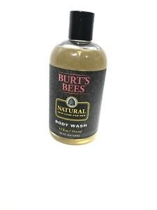 Burt's Bees Body Wash For Men Natural Skin Care For Men 12 oz. Discontinued