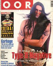 MAGAZINE OOR 1996 nr. 17 -TYPE O'NEGATIVE/TRACY BONHAM/STEELY DAN