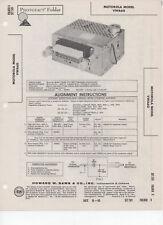 1960 Volkswagen Model VWA60 Radio-Photofact