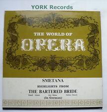 Oh 103-Smetana-el truecan Novia-Highlights-Excelente Con Disco Lp