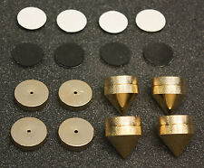 Component Isolation Spikes / Cones / Feet Set of 4 Highest Quality !!!!!