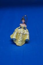"""Belle 2"""" Resin Christmas Collection Ornament Figurine Disney Parks Beauty Beast"""
