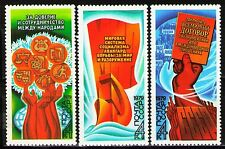Russia 1979 Sc4793-5  Mi4900-2  3v  mnh  Peace Program in Action