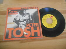 "7"" Reggae Peter Tosh - Pick Myself Up / I'm The Toughest EMI ROLLING STONES"