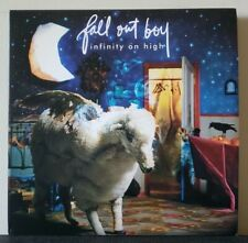 FALL OUT BOY - Infinity On High x2 LP Blue/White Splatter Vinyl Decaydance Emo