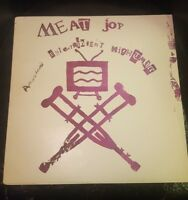 "Meat Joy America's Entertainment Nightmare 12"" LP Vinyl Record VG+"