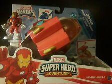 Marvel Super Hero Adventures Playskool Heroes Iron Man Starship NEW!
