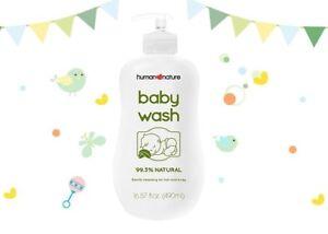 Human Nature Natural Baby Wash 490ml