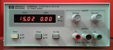 Hp Agilent E3610a Kr51313029 Dc Power Supply 0 15v 3a 30w