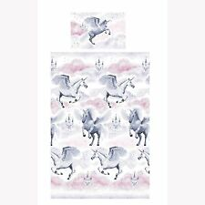 STARDUST UNICORN JUNIOR COT BED DUVET COVER SET TODDLER