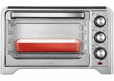 Toaster Convection Oven Countertop X-Large Stainless Steel 6 Slice Chefman New