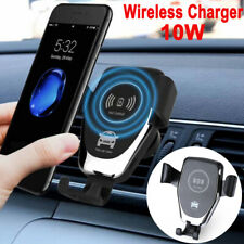 Fast Charger QI Wireless Automatic Clamping Smart Sensor Car Phone Holder