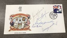Extremely Rare 200th Anniversary MCC FDC Signed by 5 x with COA