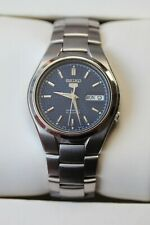 Seiko 5 Automatic watch 7S26 Blue textured dial stainless steel bracelet